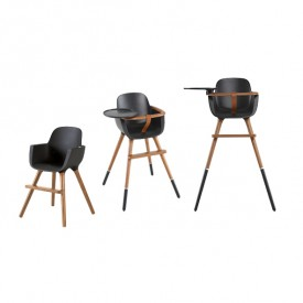 OVO High Chair Plus - City - Anthracit  Black Micuna