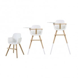 OVO High Chair Luxe - One - White White Micuna