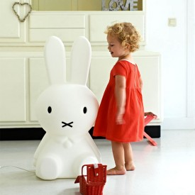 Miffy XL Lamp White Mr Maria