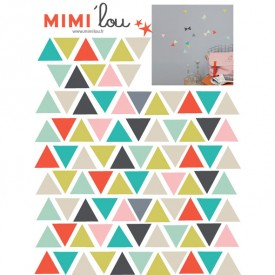 Just a touch - Triangles Multicolour MIMI'lou