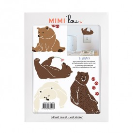 Just a touch - Lazy Bears Brown MIMI'lou