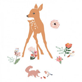 Sticker - Deer Multicolour MIMI'lou