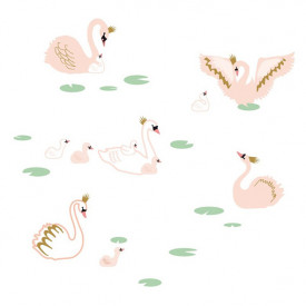 Sticker - Swan Lake Multicolour MIMI'lou