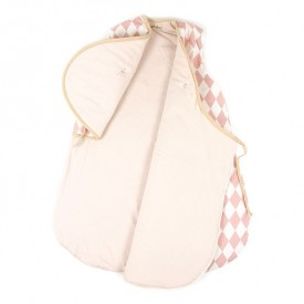 Baby Sleeping Bag Montréal - Diamonds - Pink - 9-24 Months Pink Nobodinoz