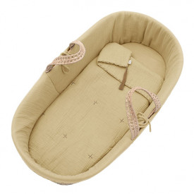 Moses Basket + Bed Linen - Mellow Yellow Yellow Numéro 74