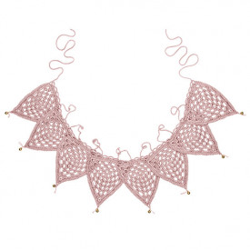Bunting Garland Crochet - Dusty Pink Pink Numéro 74