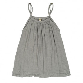 Mia Dress - 1-2 Years - Silver Grey Grey Numéro 74