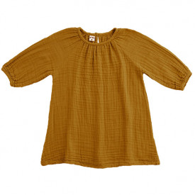 Nina Dress - 1-2 Years - Gold Yellow Numéro 74