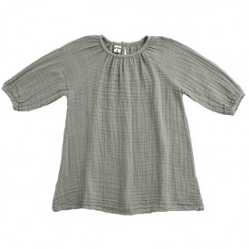 Nina Dress - 1-2 Years - Silver Grey Grey Numéro 74