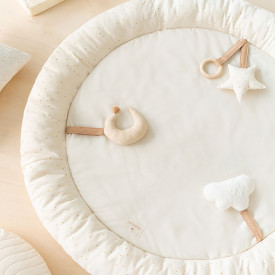 Baby Sensory Activity Playmat - Sky White Nobodinoz