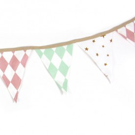 Soft Garland Rio - Stars & Diamonds Multicolour Nobodinoz