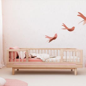 Pure toddler bed 70x140 cm - Oak  Nature Nobodinoz