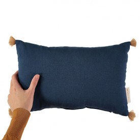 Sublim Cushion - Night Blue White Nobodinoz