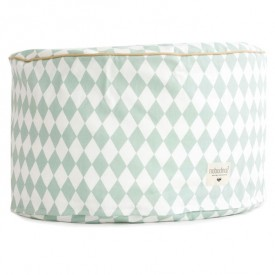 Timbuktu Pouf - Diamonds - Green Green Nobodinoz