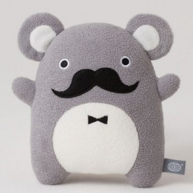 Plush Mouse Soft Toy Ricedapper Grey Noodoll