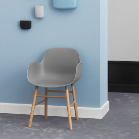 Form Armchair - Wood - Color to choose Multicolour Normann Copenhagen