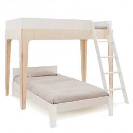 Perch lower bed 90x200 - White White Oeuf NYC