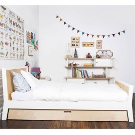 Sparrow Child Bed - White Nature Oeuf NYC