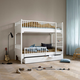 Seaside Bed Drawer White Oliver Furniture