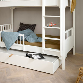 Seaside Trundle bed  White Oliver Furniture