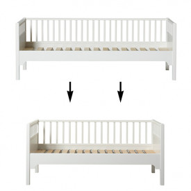 Seaside Conversion Kit - Sofa bed to junior sofa bed White Oliver Furniture