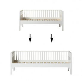 Seaside Conversion Kit - Junior Sofa bed to sofa bed White Oliver Furniture