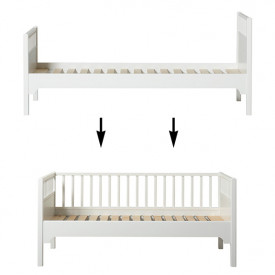 Seaside Conversion Kit - Single bed to junior day bed White Oliver Furniture