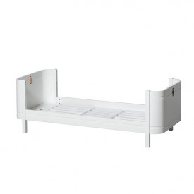 Mini+ Junior Bed 68x162cm - White White Oliver Furniture