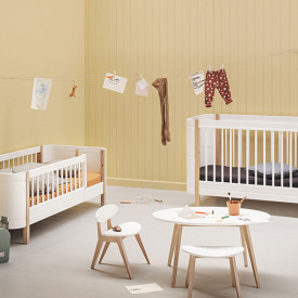Mini+ Sibling Kit (additional to Mini+ Cot Bed) White Oliver Furniture