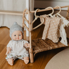 Doll Rattan Clothing Rail Nature Olli Ella