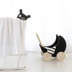 Toy Pram - Blackboard Black Ooh Noo