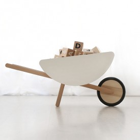 Toy wheelbarrow White Ooh Noo