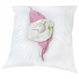 Cotton Pillow - 60 x 60 cm White Kadolis