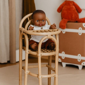 Rattan Doll's Highchair Nature OYOY