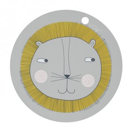 Placemat - Lion Grey OYOY