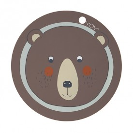 Placemat - Bear  Brown OYOY