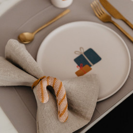 Placemat Rainbow - Clay Beige OYOY