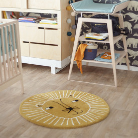 Lion Rug Yellow OYOY