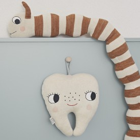 Tooth Fairy Cushion White OYOY