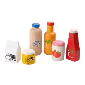 Food and beverage set Multicolour Plan Toys