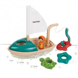 Activity Boat Blue Plan Toys