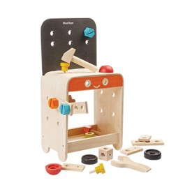 Workbench with accessories Multicolour Plan Toys