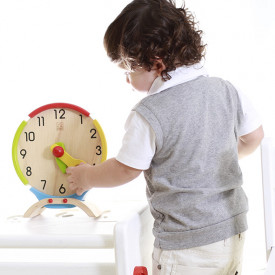 Activity Clock Multicolour Plantoys