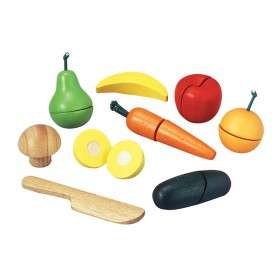 Fruits and vegetables Tray Multicolour Plantoys