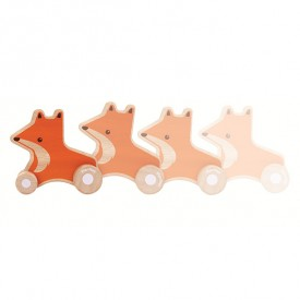 Fox Wheelie Orange Plantoys