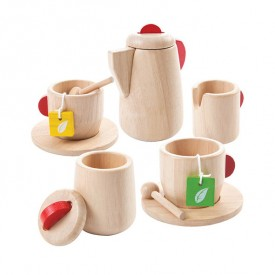 Tea Set - Natural Nature Plantoys