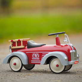Fire truck Ride-On - Display Model Red Baghera
