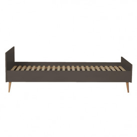Cocoon Single Bed 90x200cm - Moss Brown Quax