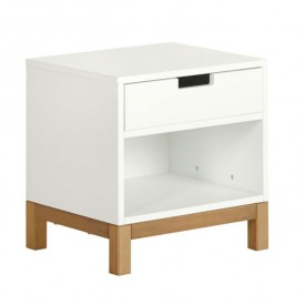 Indigo Night table - White White Quax