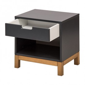 Indigo Night table - Moonshadow Grey Quax